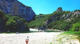 Một góc Gorges de l'Ardèche