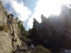 Đi qua dây văng Via Ferrata