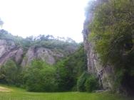 Quang cảnh xung quanh Via Ferrata Bastille