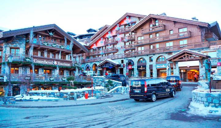 Station Ski Courchevel