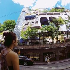 Ngôi nhà của kiến trúc sư tài ba người Áo - Hundertwasser.